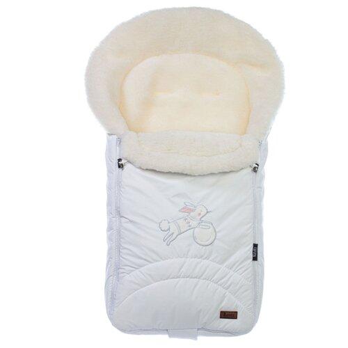 Конверт-мешок Nuovita Tundra Bianco меховой 90 см белый конверт мешок nuovita tundra bianco меховой 90 см белый