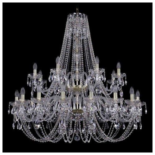 Люстра Bohemia Ivele Crystal 1406 1406/16+8/400/2d/G, E14, 960 Вт bohemia ivele crystal 1406 16 8 4 400 160 2d g
