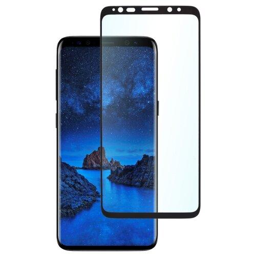 Защитное стекло для телефона skinBOX. 3D full glue, для Samsung Galaxy S9, цвет черный чехол для сотового телефона skinbox lux 4660041407143 черный