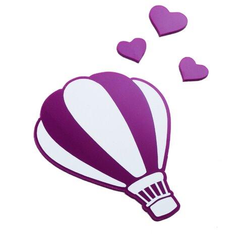 Наклейка на выключатель DS Studio Воздушный шар, объемные