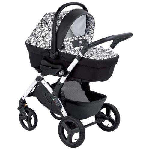 Купить Универсальная коляска CAM Dinamico Up Smart (3 в 1) 782/white, цвет шасси: белый, Коляски