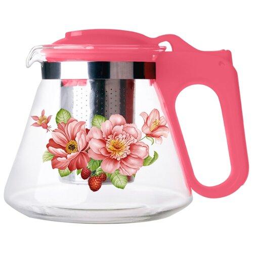 Alpenkok Заварочный чайник АК-5510/15А/8А/18A, темно-розовый