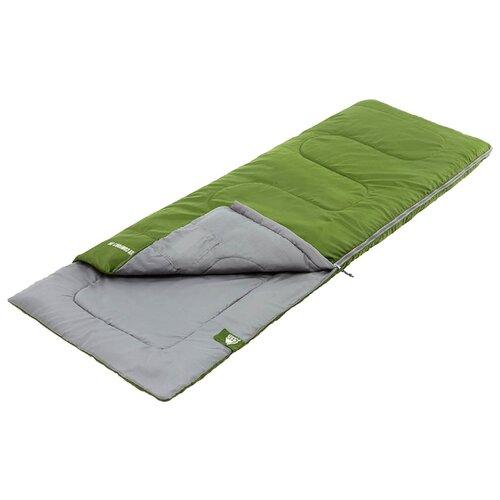 Спальный мешок TREK PLANET Ranger Comfort Jr зеленый с левой стороны