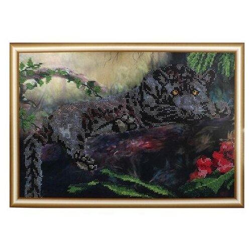 Hobby & Pro Набор для вышивания бисером Пантера 37 х 25 см (БН-3127)Наборы для вышивания<br>