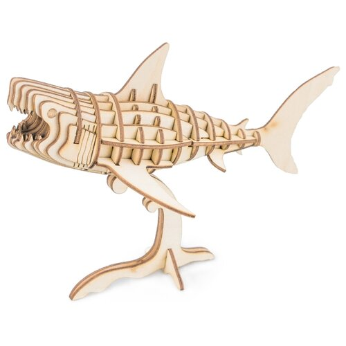 Пазл Robotime Морские животные Акула (TG274), 40 дет. robotime 3d пазл ресторан