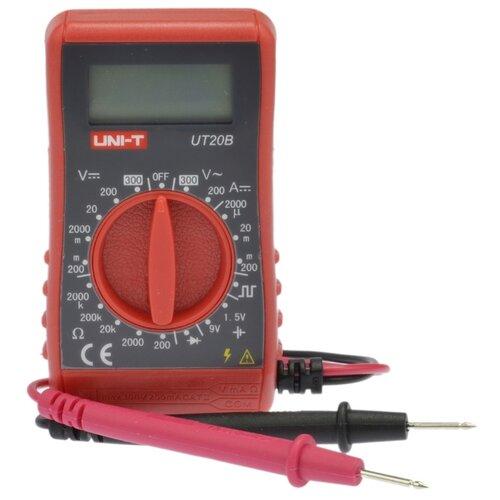 Мультиметр цифровой UNI-T UT20B мультиметр цифровой uni t ut33b