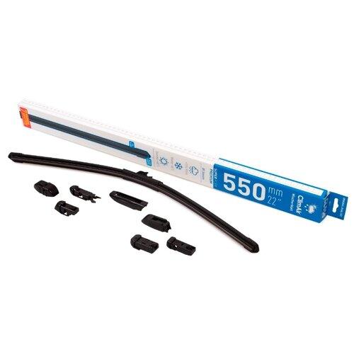 Щетка стеклоочистителя бескаркасная ClimAir CL-550 550 мм, 1 шт.