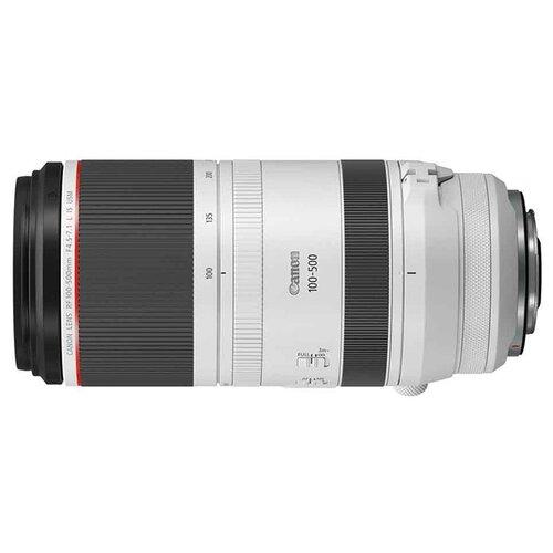 Объектив Canon RF 100-500mm f/4.5-7.1L IS USM белый