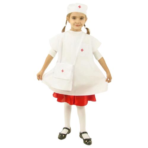 Купить Костюм ВИНИ Медсестра (ВК-61006), белый, размер 122-128, Карнавальные костюмы