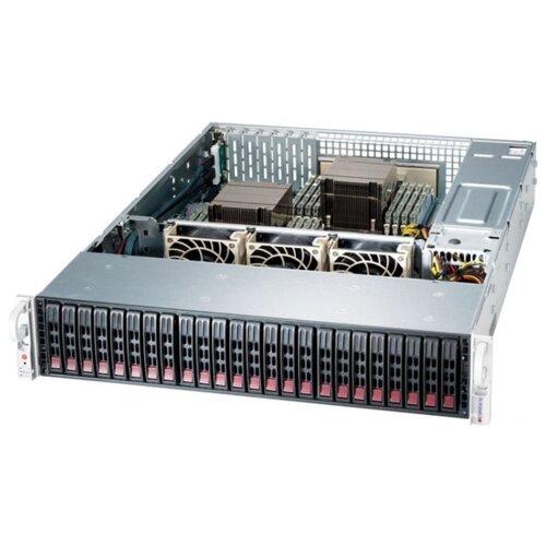 Сервер Supermicro SuperStorage 2029P-ACR24L без процессора/без ОЗУ/без накопителей/количество отсеков 2.5\