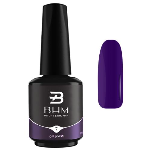 Гель-лак для ногтей BHM Professional Gel Polish, 7 мл, №007 Ultra Violet гель лак для ногтей bhm professional gel polish 7 мл 035 fashion violet