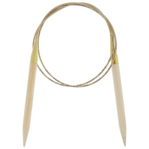 Купить Спицы ADDI круговые из бамбука 555-7, диаметр 9 мм, длина 100 см, бежевый