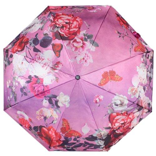 Зонт полуавтомат FLIORAJ Ноктюрн розовый