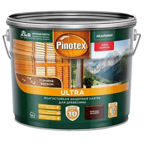 Водозащитная пропитка Pinotex Ultra палисандр 9 л