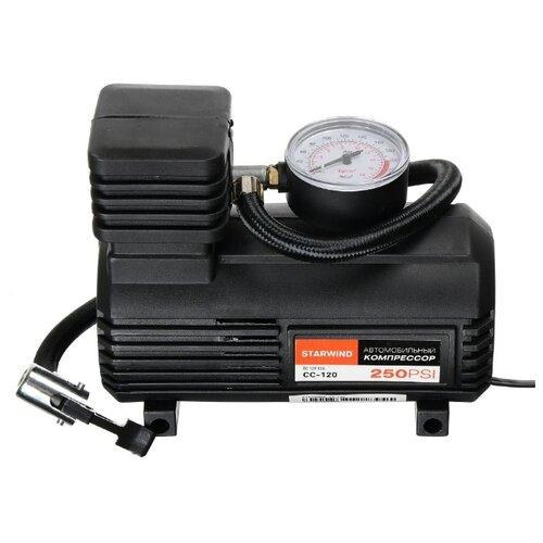 Автомобильный компрессор STARWIND CC-120 Черный DE5