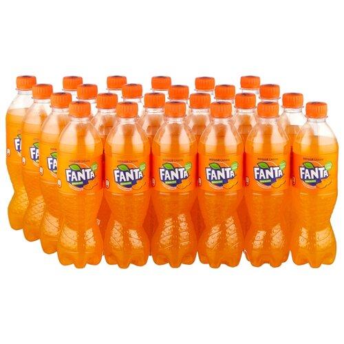 Газированный напиток Fanta, 0.5 л, 24 шт.