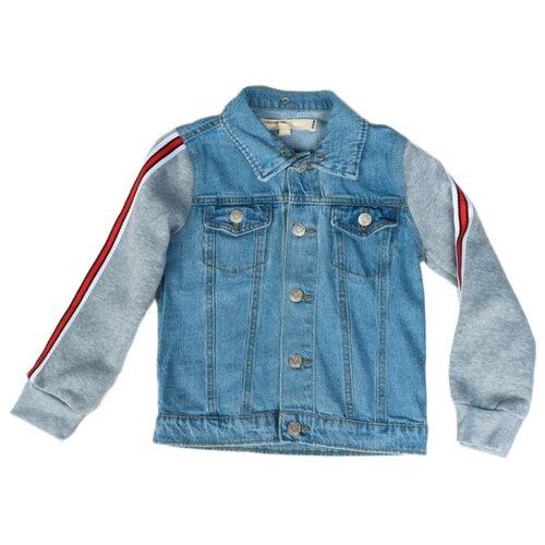 Купить Куртка MODIS M191D00239 размер 158, голубой, Куртки и пуховики