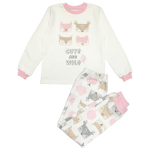 Пижама Веселый Малыш размер 98, розовый пижама веселый малыш размер 104 розовый