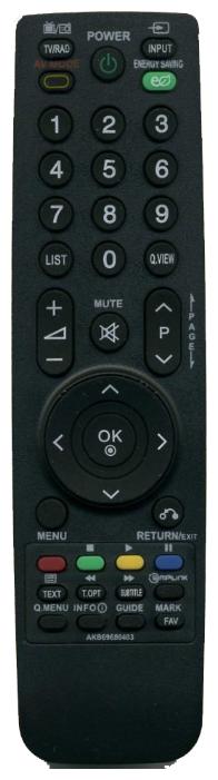 Пульт ДУ Huayu AKB69680403 для для телевизоров