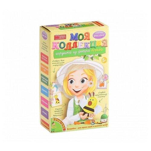Купить BONDIBON Набор для творчества Игрушка из фетра Пчела (ВВ1224), Изготовление кукол и игрушек