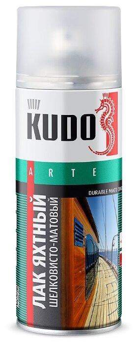 Лак KUDO яхтный универсальный шелковисто-матовый