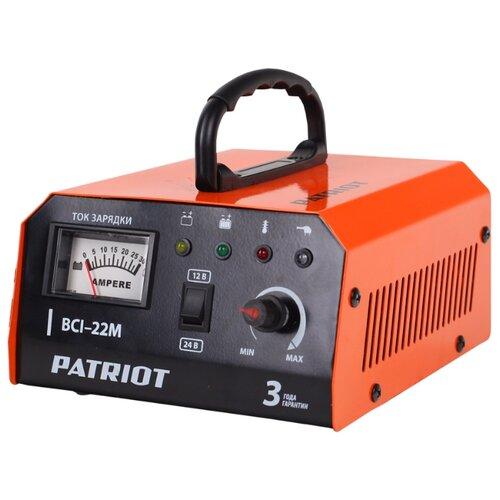 Зарядное устройство PATRIOT BCI-22M черный/оранжевый зарядное устройство patriot gl 402 830201150