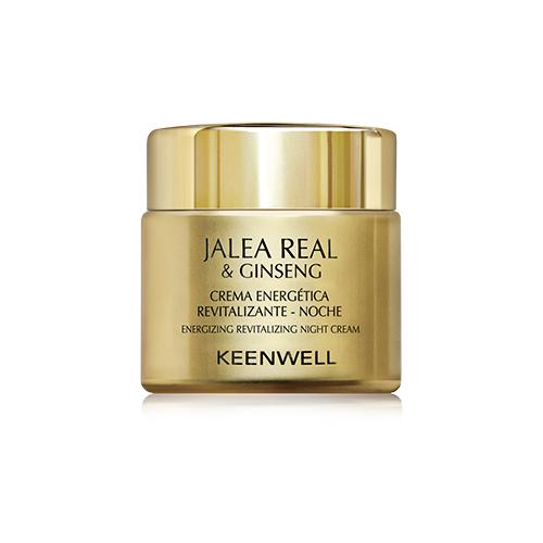 Keenwell Royal Jelly & Ginseng Energizing Revitalizing Night Cream Ночной энергетический восстанавливающий крем для лица, 80 мл