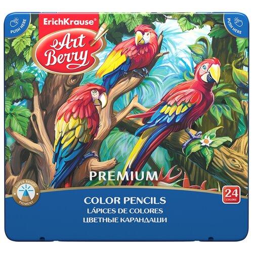 ErichKrause Цветные карандаши Artberry Premium 24 цвета (44631)