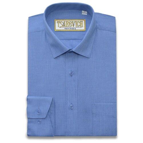 Купить Рубашка Tsarevich размер 31/128-134, синий, Рубашки