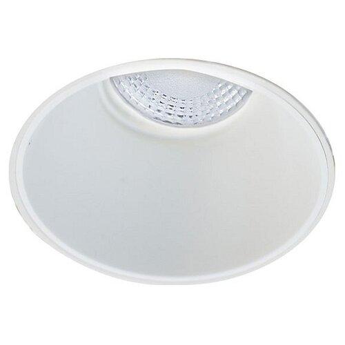 Встраиваемый светильник Donolux DL18892/01R White встраиваемый светильник donolux dl132g shampagne gold