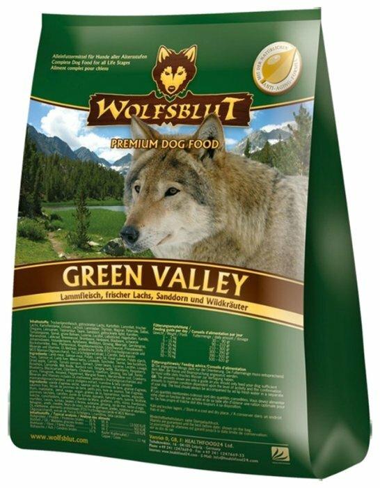 Корм для собак Wolfsblut Green Valley (15 кг)