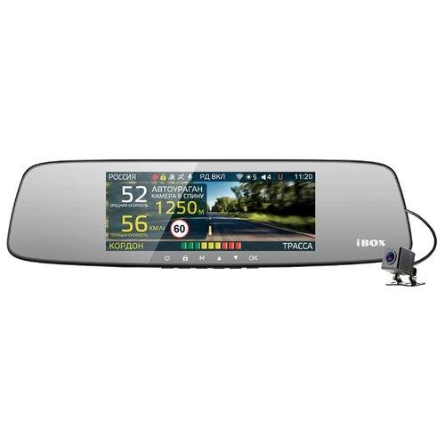 Купить Видеорегистратор с радар-детектором iBOX Range LaserVision WiFi Signature Dual, 2 камеры, GPS, ГЛОНАСС черный