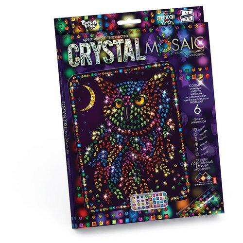 Купить Danko Toys Набор алмазной вышивки Crystal Mosaic Сова (CRM-01-06), Алмазная вышивка