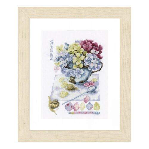 Купить Набор для вышивания Hortensia LANARTE 20 x 28 см PN-0154329, Наборы для вышивания