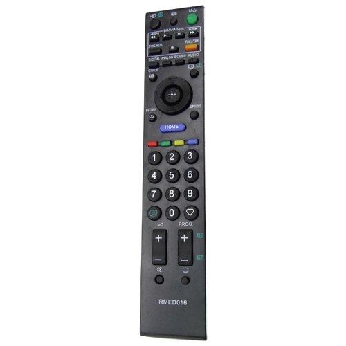 Пульт ДУ Huayu RM-ED016 для телевизоров Sony KDL-32E5510/KDL-22E5300/KDL-22E5310/KDL-32E5500/KDL-32E5510/KDL-40E5500 черный