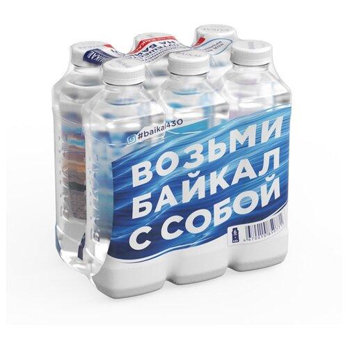 Вода питьевая Baikal430 негазированная, ПЭТ, 6 шт. по 0.85 л