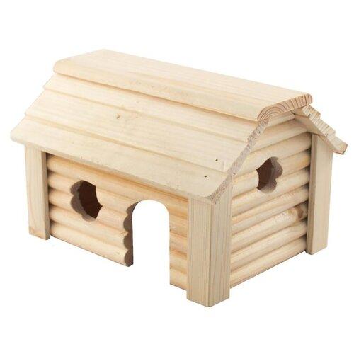 Домик для грызунов Дарэлл Баня 8605 19х17х12 см бежевый