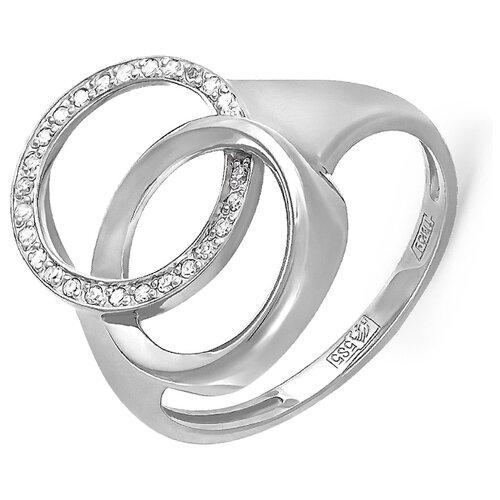 KABAROVSKY Кольцо с 26 бриллиантами из белого золота 11-1919-1000, размер 18 kabarovsky кольцо 11 21151 2302 размер 18
