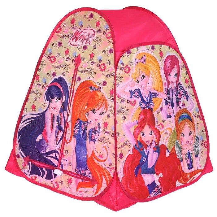 Палатка Играем вместе Winx конус в сумке GFA-WX01-R