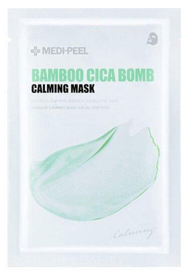 MEDI-PEEL Маска для чувствительной кожи Bamboo Cica Bomb Calming Mask
