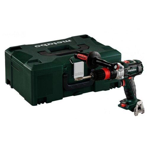 Ударная аккумуляторная дрель-шуруповерт Metabo GB 18 LTX BL Q I 0 MetaLoc (+ патрон) 120 Н·м зеленый/черный патрон metabo 627259000