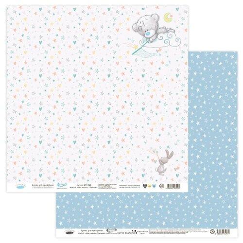 Купить Бумага Mr. Painter 30, 5x30, 5 см, 10 листов, MTY-PSR 190601 Наш малыш. Мальчик №5 белый/голубой, Бумага и наборы