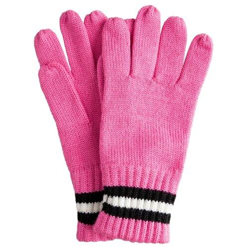 Купить Перчатки Gulliver 22009GJC7601 размер 18, розовый, Перчатки и варежки