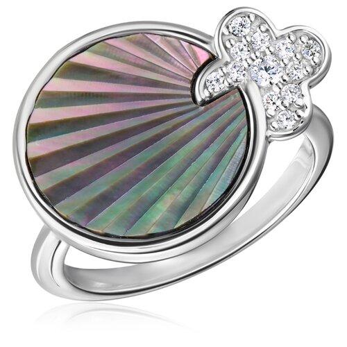 Бронницкий Ювелир Кольцо из серебра S85615058, размер 17 бронницкий ювелир кольцо из серебра s85610001 размер 17 5