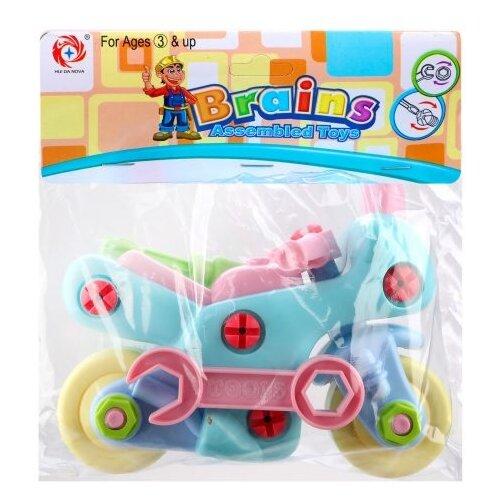 Винтовой конструктор Наша игрушка 66715 Мотоцикл игрушка