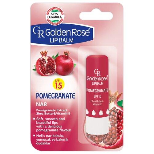 Golden Rose Бальзам для губ Гранат SPF 15