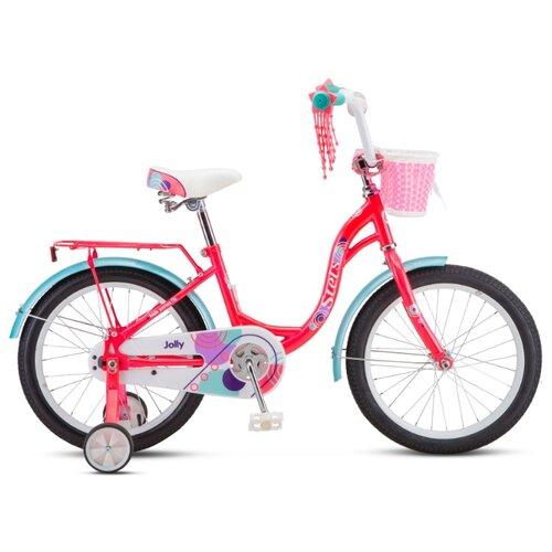 """Детский велосипед STELS Jolly 18 V010 (2020) розовый 11"""" (требует финальной сборки)"""