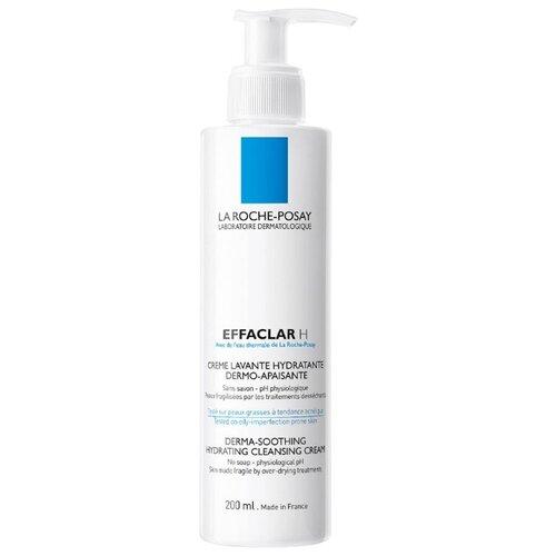 La Roche-Posay Крем-гель для проблемной кожи Effaclar H, 200 мл la roche posay крем effaclar h мультивосстанавливающий успокаивающий увлажняющий эфаклар н 40 мл