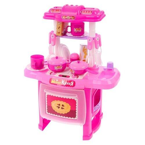 Купить Кухня Happy Valley Мини-кухня 2462669 розовый, Детские кухни и бытовая техника