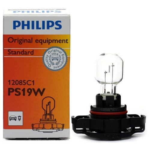 Лампа автомобильная накаливания Philips 12085C1 Ps19w 1 шт. лампа автомобильная накаливания philips 12594cp p21 4w 21 4w 1 шт